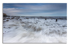 Rush (Steven Peachey) Tags: seaham beach chemicalbeach ef1740mmf4l canon6d coast northeastcoast northeastengland coastline durhamheritagecoast exposure manfrotto lee09gnd leefilters stevenpeachey lightroom seascape sea 2017 tide explored explore