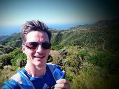 Course dans les montagnes