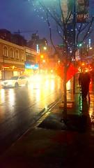 Rain and Euphoria (Galactic Dawn) Tags: rain dance night euphoria toronto downtown yongestreet march