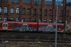 _DSC7706 (Under Color) Tags: hannover graffiti train db zug sbahn strain kunst art streetart subwayart