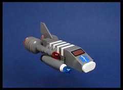Space Ambulance (Karf Oohlu) Tags: lego moc microscale microspacetopia scifi spaceship ambulence