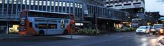 621 & 625 on Maid Marian Way (timothyr673) Tags: nct nottinghamcitytransport nctroute36 orange go2 621 bus enviro400 e400 scania n230ud
