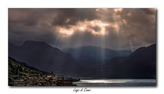 Lac de Côme (jldum) Tags: lombardie lac landscapesdreams italie italia sun sunset lacdecôme lagodicomo lake