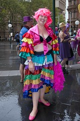 LGBTQI Colours 5 (l plater) Tags: 2017sydneygayandlesbianmardigrasparade bicentennialplaza queenvictoriabuilding qvb lgbtqicolours