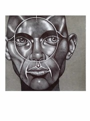 Face-39  (Ballpoint pen) (Rebecca_Cruz) Tags: futurism ballpoint pen futurist art drawing