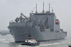 USNS Robert E. Peary (T-AKE-5) (mattmckie98) Tags: usns robert e peary portsmouth vessel ship southsea royal navy united states america