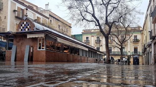 A Mataró plou ...   -  Rain in Mataró