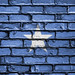 National Flag of Somalia on a Brick Wall