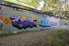 SEVE, SPOOK, PHEM, SKEW (STILSAYN) Tags: california graffiti oakland bay east area skew spook 2014 seve phem