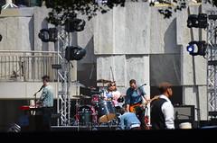 #Bastille sound check before playing #Apple #wwdc party #wwdc14 #music (Steve Rhodes) Tags: music apple gardens yerba wwdc bastille buena wwdc14