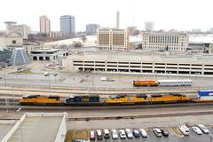 EMD's at Kansas City, MO (nsmith8853- I'm tired of shootings GE's!) Tags: city railroad up train pacific union railway trains mo missouri kansas kc railfan kcmo csx emd sd70m
