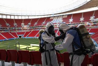 【组图】巴西世界杯安保工作 投入巨大确保万无一失