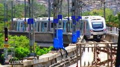Newly inaugerated Mumbai Metro at Ghatkopar Station !! (akshaypatil™ ® photography) Tags: india metro mumbai inauguration metrostation versova ghatkopar metroinauguration mumbaimetro indianrailwayrarecapture