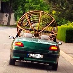 306 Cabrio - je t'aime - I love U (DETart) Tags: driving outdoor rolandgarros germany belgium hergenratth hauset aachen open fun grün auto green car cabriolet cabrio 306 peugeot