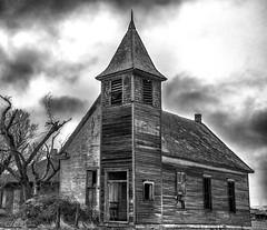 (rickhanger) Tags: church abandoned abandonedchurch rickhangerphotography southdakota rickhanger