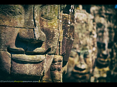 """Sometimes your joy is the source of your smile, but sometimes your smile can be the source of your joy."" - Thich Nhat Hanh (Sam Antonio Photography) Tags: old travel sculpture eye history texture tourism monument smile face smiling statue rock stone closeup architecture temple happy ancient ruins asia cambodia southeastasia cambodian khmer exterior place bokeh head buddha buddhist traditional famous religion ruin large culture murals buddhism landmark angkorwat carving lips relief human stonesculpture siem destination historical civilization block spirituality siemreap angkor wat hinduism archeology riep prayers bayon angkorthom destinations stonefaces bayontemple canon70200f4 cambodianculture canon5dmarkii samantoniophotography angkorwatphotography abandonedkingdom"