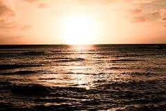 Waikiki Sunset by JED CALUAG (Bensan.) Tags: ocean sunset beach photography waikiki jed 671 waikikisunset caluag jedcaluag