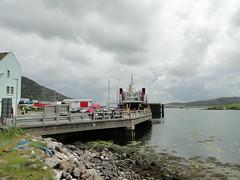 MV Lord of the Isles at Lochboisdale (David McSporran) Tags: mountains island scotland highlands south scottish grahams graham calmac uist hillwalking mhor beinn lochboisdale