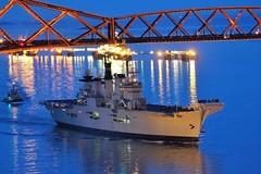 HMS Illustrious (Leeroy-Q) Tags: nikon aircraft navy royal forth carrier hms invincible d3100