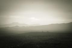 Party of 3 (asmundur) Tags: 3 fog three iceland trail tres wilderness rr