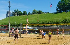 2014-07-04 BBV Hat Draw Tournament (27) (cmfgu) Tags: holiday net beach sports ball court md sand outdoor 4th july maryland baltimore tournament bikini volleyball coed athlete fourth independenceday league 4s innerharbor fours bbv rashfield hatdraw