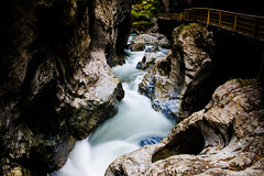 Liechtensteinklamm (Kuba Abramowicz) Tags: blur alps water saint rock stone creek flow austria movement nikon rocks europe long exposure european stones rocky eu move canyon nikkor johann blured kuba lichtenstein pongau d610 2470 klamm abramowicz lpfierce