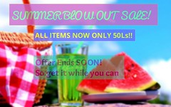 BLOW OUT SALE! @ The Pantry (Lexy Nexen) Tags: summer technology mesh sale watermelon sl gaming secondlife surfboard online pantry stores cheap sculpt thriftshop affordable virtualworld