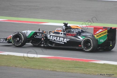 Nico Hulkenberg during The 2014 British Grand Prix
