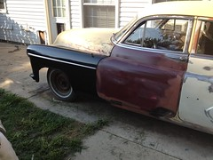 1950 Odsmobile 98 - some progress photos 06/22/2014 (bslook1213) Tags: flickr budget low 98 1950s restoration 1960s 88 super88 1950 oldsmobile 1951 1953 1952 festiva googleimages googlesearch hydramatic oldsmobilerocket futuramic flickriver flickrhive googlebingyahooimagespicturesbrassmodeltrainssteammodelrailroadingoscale backyardrestorationproject1950oldsmobile 303rocketoldsmobile