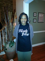 Mama Brizendine in her Made New Tee!