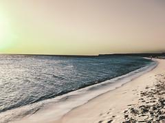 Nada y todo. (jvlibeth) Tags: republica las sunset sol beach de mar amazing nikon soft surf waves dominican republic good dr south playa bahia dominicana sur caribbean vibes pedernales rd oceano aguilas caribe teamnikon caribea osland