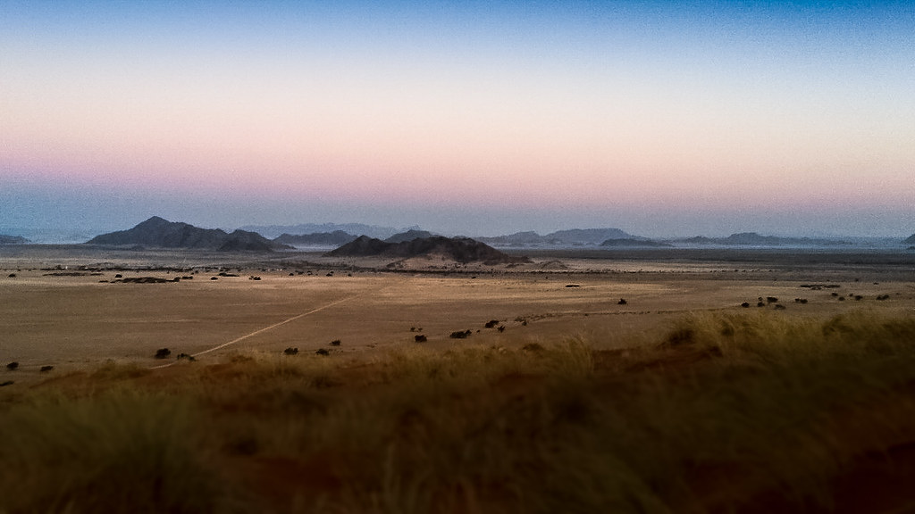 Sunset View, Sesseriem, Namibia
