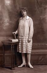 0223 (Frollein Eichblatt) Tags: old 1920s portrait woman female vintage antique 20s twenties