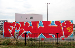 graffiti (wojofoto) Tags: amsterdam graffiti streetart fck why javaeiland nederland netherland holland wolfgangjosten wojofoto
