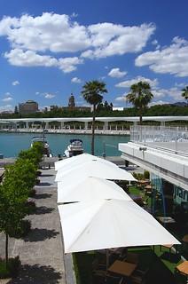 Málaga, Spain - in and around the 'Puerto de Málaga'