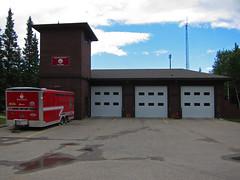 Redwood Meadows Fire Station (pokoroto) Tags: summer canada building station june fire meadows alberta redwood 2014 6月 六月 カナダ minazuki 水無月 アルバータ州 rokugatsu monthofwater 平成26年