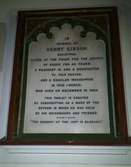 Gibson memorial
