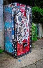 Cabbagetown (Mark Chandler Photography) Tags: atlanta urban color colour art canon ga georgia photography graffiti photo grafitti atl machine urbanart 7d cocacola cabbagetown krogstreettunnel markchandler