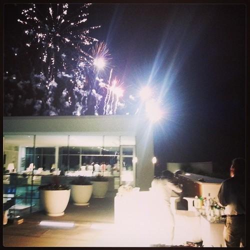 #Hamptons #fireworks #illuminatedbar #HamtonsParty