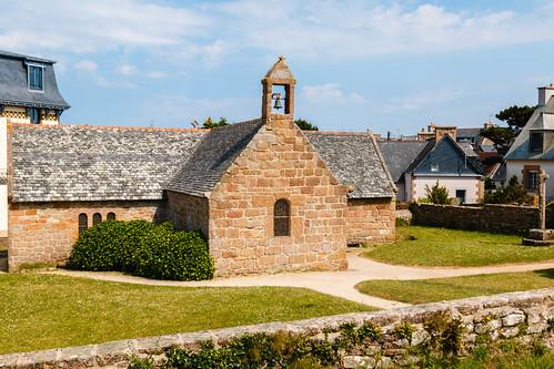 Chapelle à Saint-Guirec