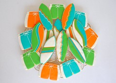 Surf Party Cookies!