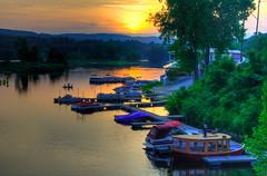 Sunset, Brattleboro, Vermont (ap0013) Tags: sunset west river vermont cloudy explore brattleboro vt westriver brattleborovermont westriversunset