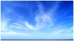 The Sky. (B-C-B) Tags: sky beach clouds cirrus kenfigsands