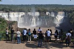 Iguazu-Wasserfälle in Brasilien (wuestenigel) Tags: iguazu iguacu brasil waterfall wasserfälle brasilien foz caratas waterfalls nature tour natur