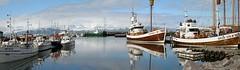 Port de Husavik- 1 - Iceland (Xtian du Gard) Tags: husavik iceland baleine whale voyage travel europa panorama port bateau boat baleinier whalingship bestcapturesaoi elitegalleryaoi coppercloudsilvernsun waterscape seascape canon eos nature harbor xtiandugard
