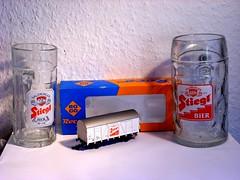 Roco Stiegl (Roco-Clubber) Tags: salzburg beer austria sterreich forum bier ho fam roco alte modelrailway stiegl modellbahn bierglas h0 bierglser modellbahnen