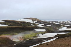 Fumaroles in Landmannalaugar