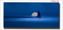 Mediterraneo (versión 2014) ver en grande / see larger image (Joaquín Galindo MIlián) Tags: sea españa moon art noche boat mar mediterraneo barco arte luna alicante nocturna mediterráneo moraira comunidadvalenciana joaquíngalindomilián
