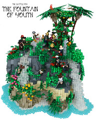 The Fountain of Youth (main) (Simon S.) Tags: lego pirates bricks jungle carribbean jungbrunnen