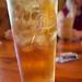 sweet tea in a Pepsi glass